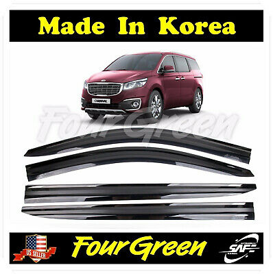 Safe Window Visors 4pcs Compatible with KIA 2019 Sorento LX EX SX SX SXL