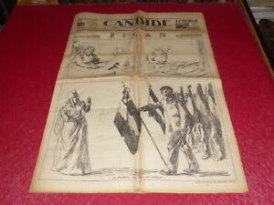 PRESSE-WW2-AVANT-GUERRE-CANDIDE-557-15-NOVEMBRE-1934-Pierre-Gaxotte-amp-c