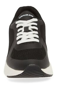 New-MENS-CALVIN-KLEIN-JEANS-BLACK-AMOS-NYLON-Sneakers-CHUNKY-SNEAKERS-11-M-New