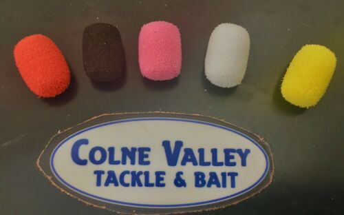 Fishing  pop ups   fake  12 mil oval 5 colour buoyant takes flavour cv tackle
