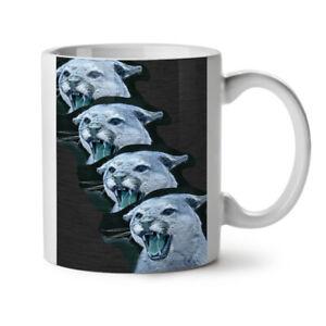 Wild Animal Tiger Cat NEW White Tea Coffee Mug 11 oz | Wellcoda