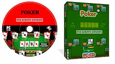 Poker Texas Holdem PC Game Software For Windows PC CD ROM