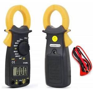 Pinza amperimetrica digital voltimetro multimetro tester polimetro clamp new