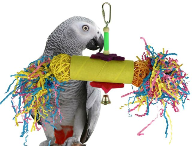 Pet Bird Parrot Toy cage toys Good Fellow for macaw african grey cockatoo amazon