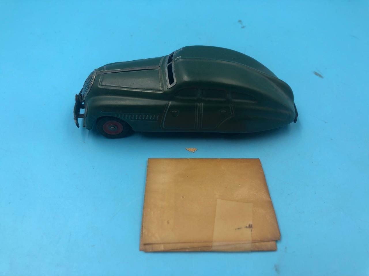 garantito Schuco Wind-Up Wind-Up Wind-Up giocattolo auto 1750 verde 6'  economico in alta qualità
