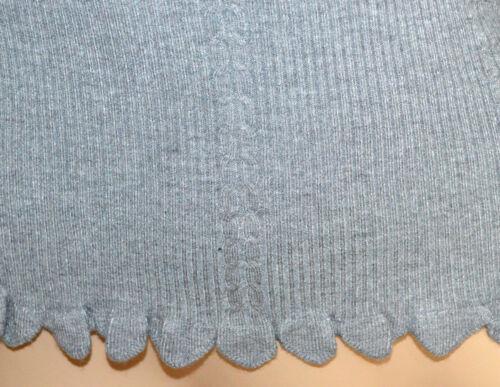 Sottogiacca Maglietta Manica Grigio Donna A25 Lunga Maglia A Punta Maglione YEYnrqx