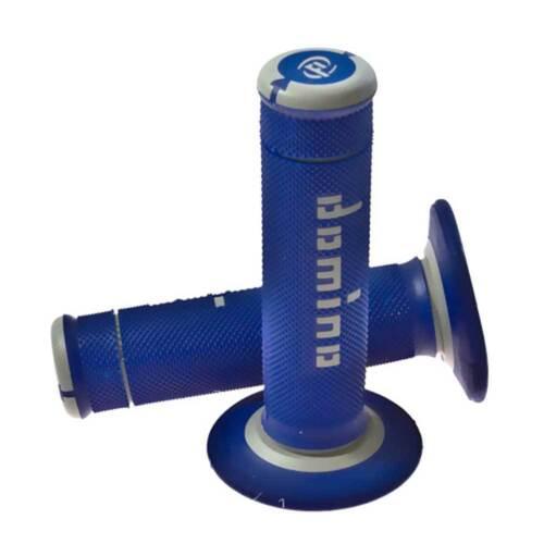 L.118mm geschlossen blau//grau A19041C52 Domino Griffgummi Offroad rechts D.22mm