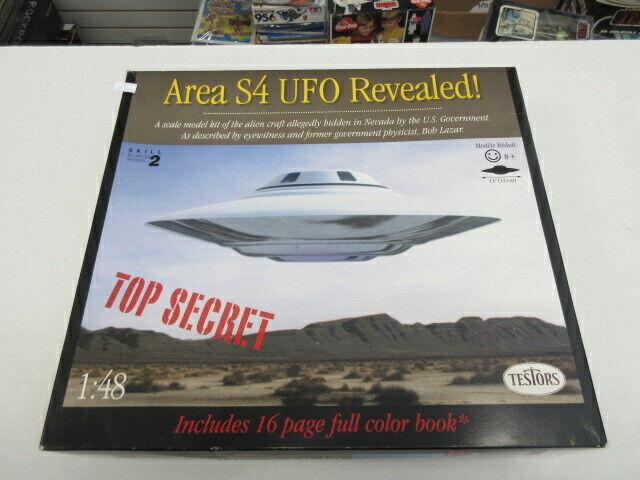 AREA S4 UFO REVEALED MODEL 1994