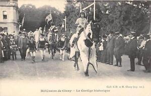 CPA-71-MILLENAIRE-DE-CLUNY-LE-CORTEGE-HISTORIQUE
