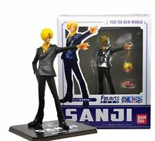 Sanji Action figure One Piece 14 cm PVC faccia intercambiabile rufy zoro