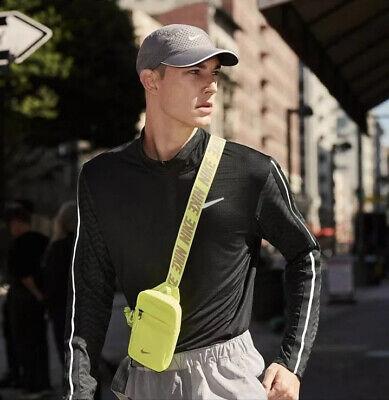 Nike Sportswear Essentials Hip Small Shoulder Bag Messenger Handbag Front Pouch | eBay