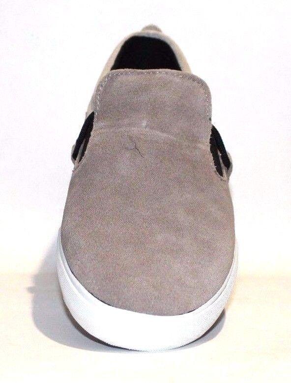 super uomini / - 2-tone camoscio, con scarpa, beige / uomini brown, dimensioni 11,5 & 12 m. af607a