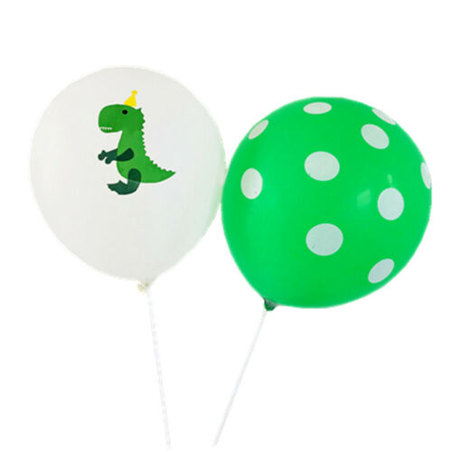 10x Dinosaur Balloon 12 inch Latex Balloon Kids Birthday Party Inflatable@V