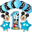 Disney-Mickey-Mouse-Birthday-Balloons-Foil-Latex-Party-Decorations-Gender-Reveal thumbnail 14