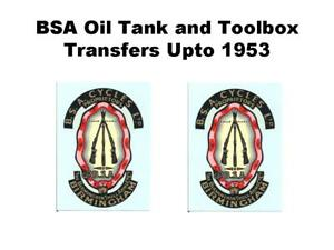 BSA-Piled-Arms-Decals-Transfers-Sold-as-a-Pair