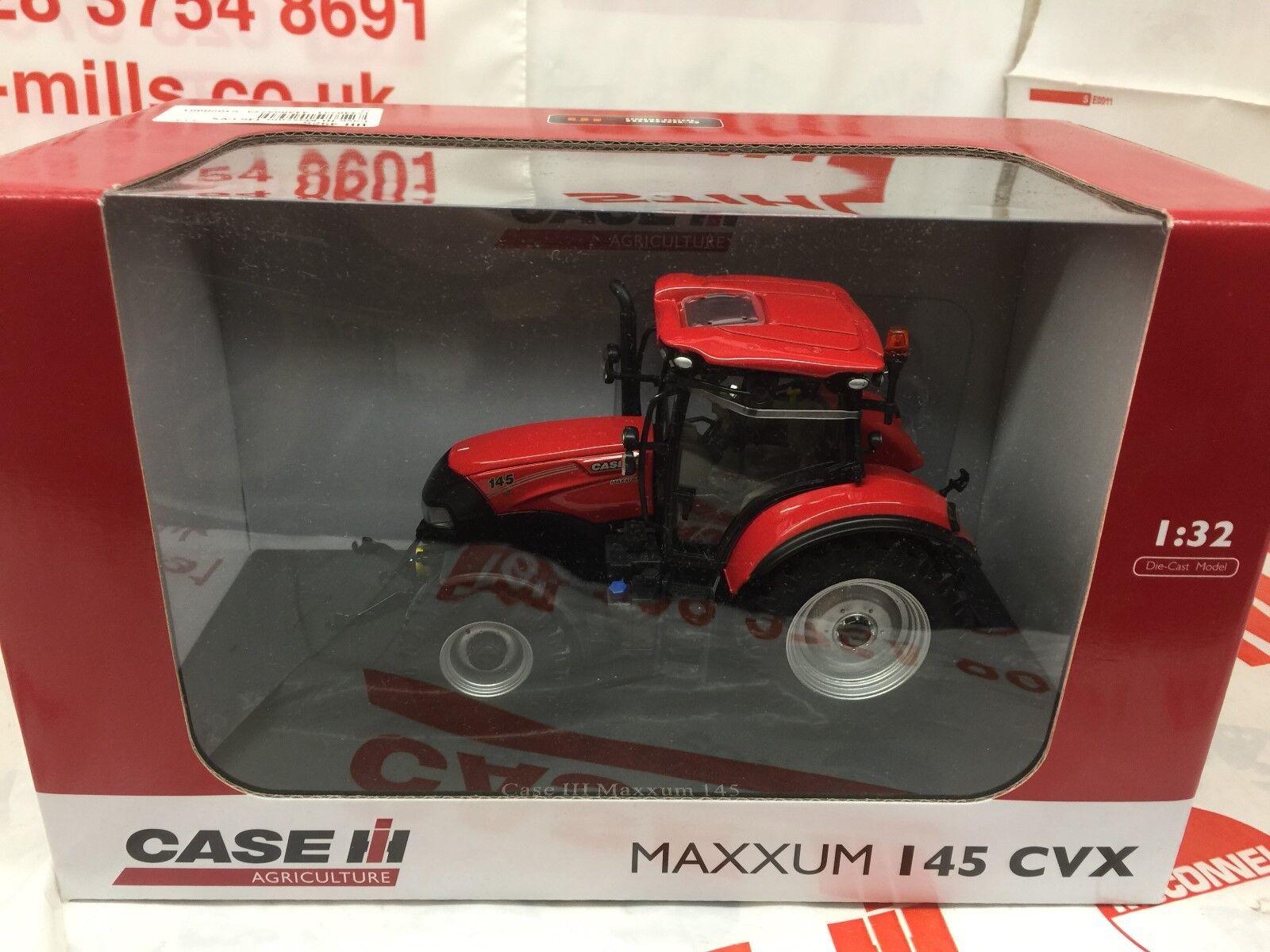 Universal Hobbies UH4925 CASE IH MAXXUM 145 CVX Tracteur 1 32 Replica Model Toy