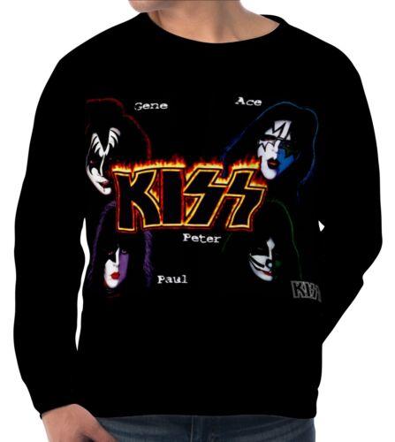 Kiss Herren Sweatshirt Sweater Pullover wa5 aam20068