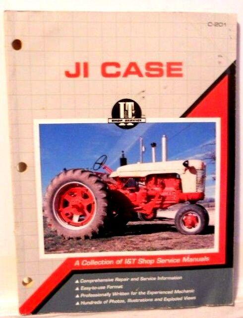 CASE,  A Collection of I & T Shop Service Manuals, C-201, See Description