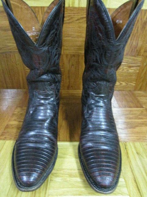 Dan Post Raleigh lizard western botas D