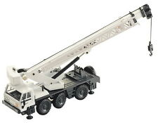 JOAL 148 Terex ATT Mobile Crane Truck White 1/50 Scale New Boxed Tracked 48 Post