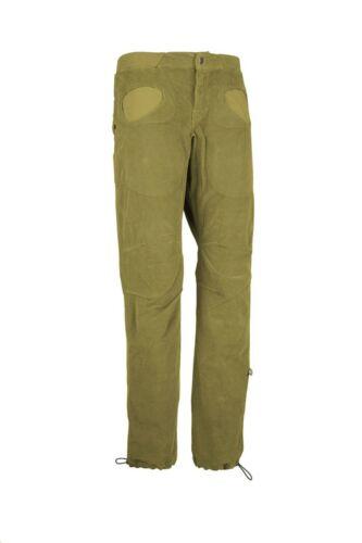 warme Cord Kletterhose für Herren Boulderhose  avocado E9 Rondo VS 2