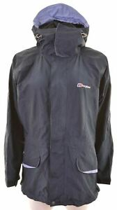 BERGHAUS-Womens-Windbreaker-Jacket-Size-12-Medium-Blue-Nylon-GC28