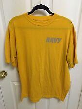 USN Authentic US Navy Physical Training (PT) Short Sleeve Shirt - Large L