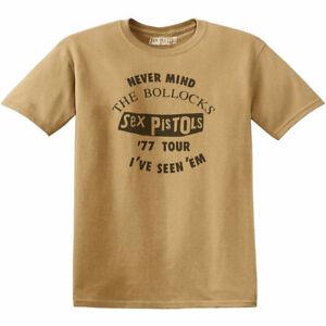 Sex-Pistols-039-039-77-Live-Tour-I-039-ve-Seen-Em-039-Vintage-Style-T-Shirt-Official-Merch