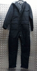 Genuine British Sioen Black Ripstop Ecw Technician Coveralls Cold Weather 112cm Reliable Performance Uniforms & Bdus