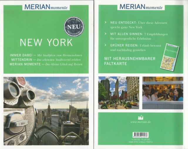 New York - WIE NEU - Merian momente - Mit Extra-Karte zum Herausnehmen
