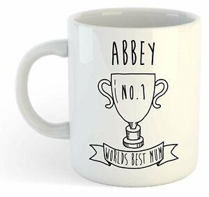 Abbey - Monde Meilleure Maman Trophy Tasse - Pour Cadeau De Fête Des Mères , Dtq2nbyh-07230056-356441191