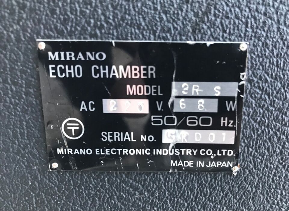 Effektenhed, Mirano Echo Chamber 3R-S