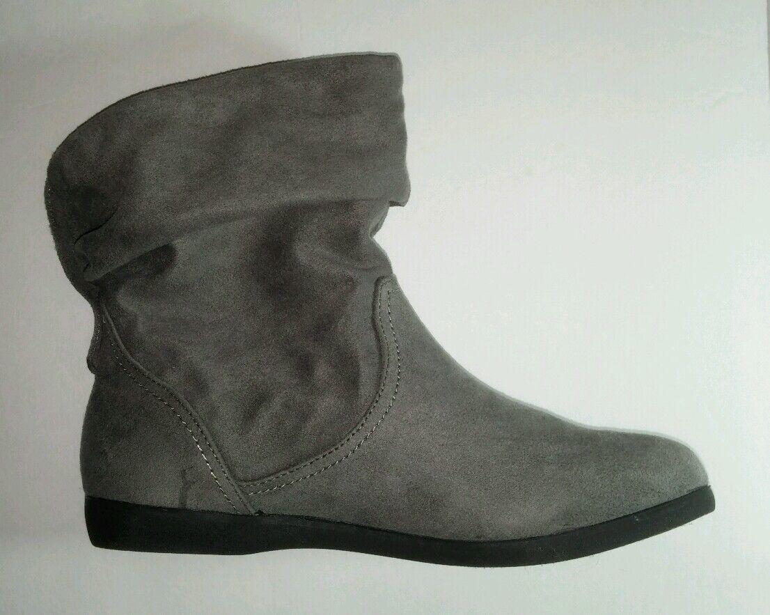 So Hefter Grau Grau Rey Weich 6 Damen Stiefeletten Stiefel Neu Einzelhandel  85