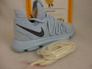 low priced f05d8 e9196 Image is loading Nike-Zoom-KD10-LMTD-Multi-Color-Anniversary-Basketball-