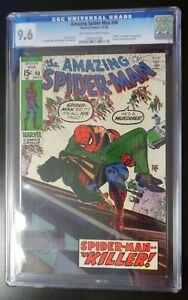 Amazing-Spider-Man-90-Marvel-Comic-CGC-9-6-Death-of-Captain-George-Stacy
