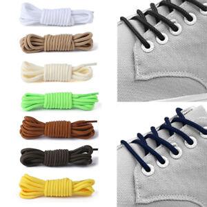 1Pair Classic Shoelace Classic Round Shoelaces Casual Sports Shoe Laces Boots CA