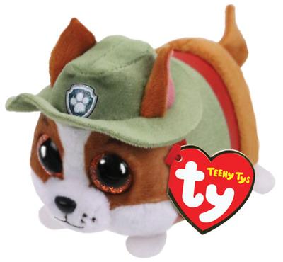 """Ty Beanie Boos 4/"""" Teeny Tys Paw Patrol ZUMA w// Ty Heart Tags MWMT/'s Stackable"""