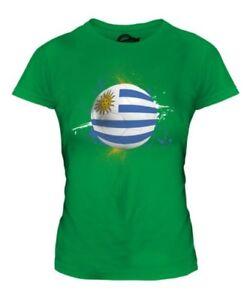 Uruguay Fútbol Mujer Camiseta Top Regalo Copa Del Mundo Deporte