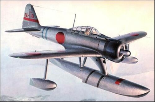 Nakajima A6M2N Interceptor and FighterBomber Aircraft Wood Model Regular New