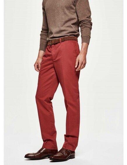 HACKETT LONDON - Sanderson Slim - BESPOKE LUXURY TROUSERS -  Pants Dimensione 32 L