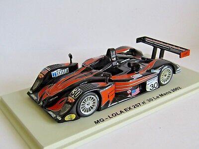 SPARK MODEL 1//43 MG LOLA EX 257 SEBRING 2002 #11 KNIGHT HAWKINS KANE  NO BOX