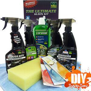 Koala Auto Ultimate 10 Piece Value Kit Car Care Clean Wash Detailing Gift Set