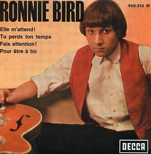 CD-SINGLE-Ronnie-BIRD-The-Rolling-Stones-Elle-m-039-attend-4-track-CARDSL