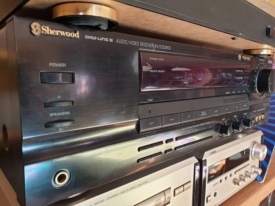 Forforstærker, Sherwood, RV-5050