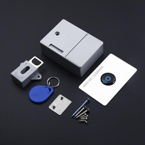 Digital RFID Drawer Card Lock DIY Electronic Cabinet Lock Battery Invisible Lock