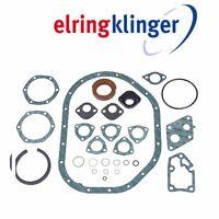 Mercedes Benz 280c 280ce 280e 280s Elring Klinger Engine Crankcase Gasket Set on Sale