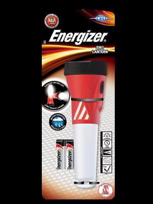 Zone torche Light 2 piles AA Energizer 2 en 1 DEL Lanterne De Poche Spot