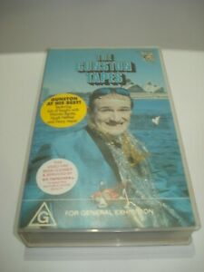 THE-GUNSTON-TAPES-VHS-VIDEO-TAPE-PAL-FREE-POSTAGE