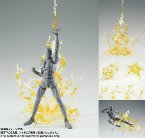 ☀️ Effect Thunder Lightning yellow Figuart Figma D-arts rider 1/6 figure hot toy