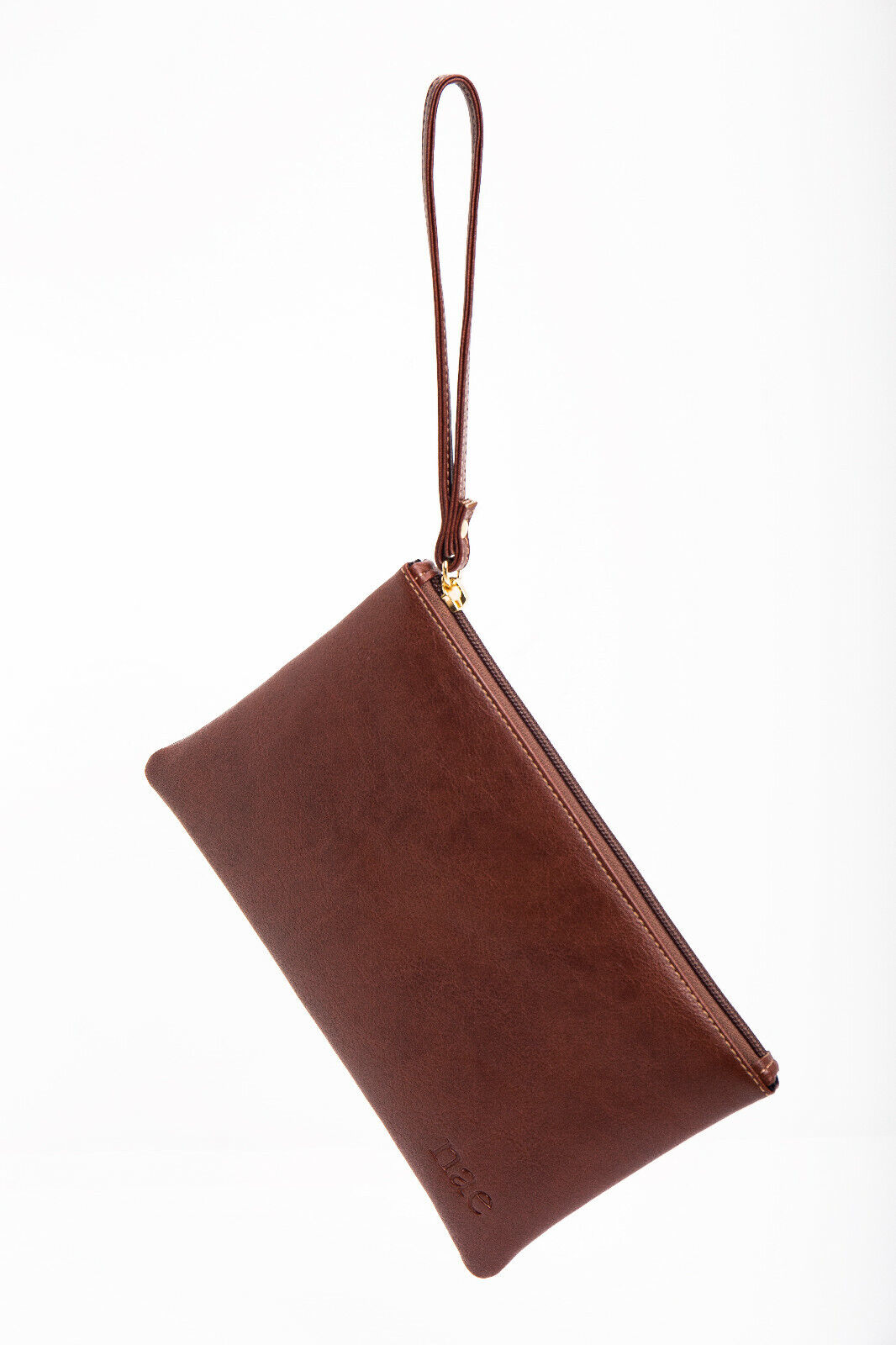 Wristlet Vegan Wallet with Long Zipper Section to Hold Phone Cards Coin...